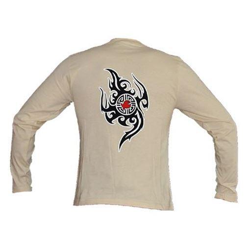 T-LS iQ T-Shirt Tattoo-Fish