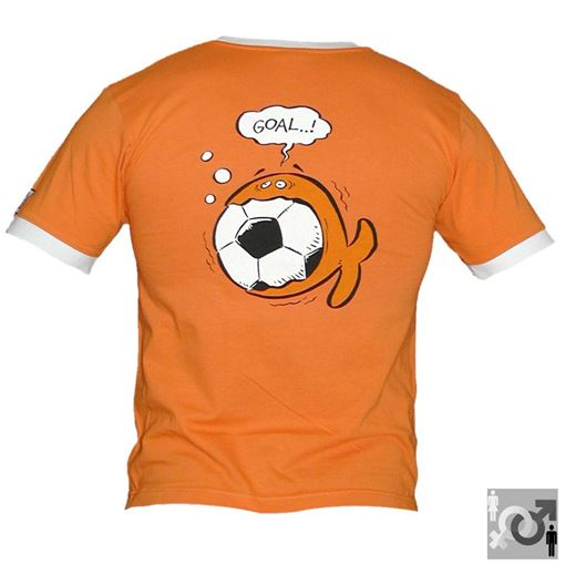 T-SS T-Shirt iQ Fish Goal OR