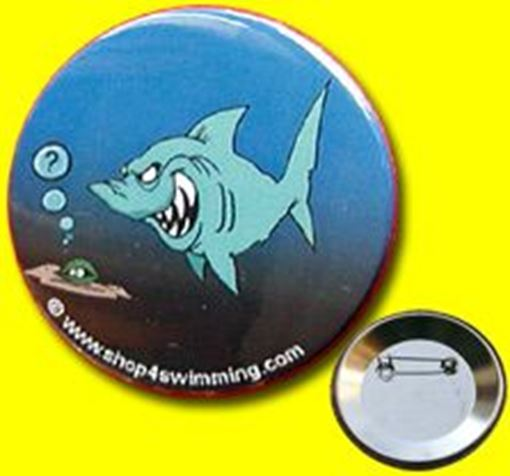 "GIBU Button: ""Shark Cartoon I"""