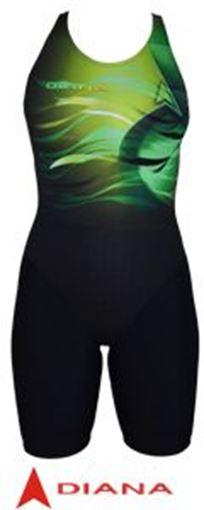 SWSL Badeanzug mit Bein X302