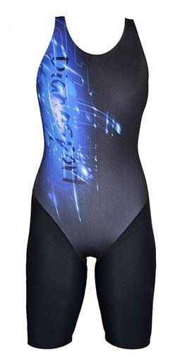 SWSL Badeanzug mit Bein C05-04