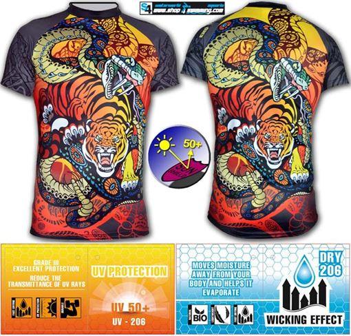 T-SP UV T-Shirt Tiger & Snake