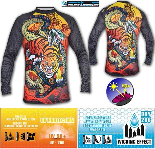 T-SP UV T-Shirt Tiger & Snake