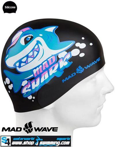 BKJR Silikon Badekappe M.Shark
